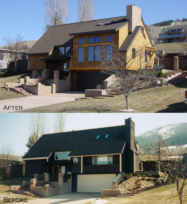 Johnson Residence Before and After